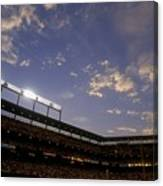 Athletics V Orioles Canvas Print