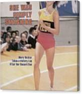 Athletics West Mary Decker, 1980 Millrose Games Sports Illustrated Cover Canvas Print