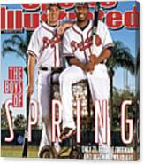 Atlanta Braves Freddie Freeman And Jason Heyward Sports Illustrated Cover Canvas Print