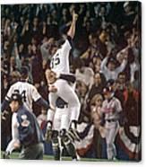 Atlanta Braves V New York Yankees Canvas Print