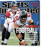 Atlanta Falcons V New York Giants Sports Illustrated Cover Canvas Print