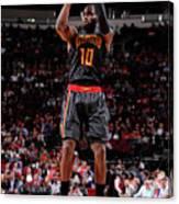 Atlanta Hawks V Houston Rockets Canvas Print