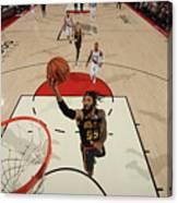 Atlanta Hawks V Portland Trail Blazers Canvas Print