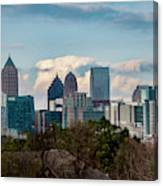 Atlanta Skyline 2 Canvas Print
