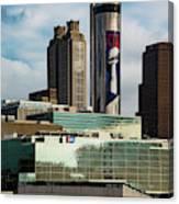 Atlanta Skyline 3 Canvas Print