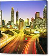 Atlanta Skyline, Georgia, Usa Canvas Print