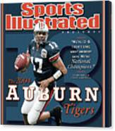 Auburn University Qb Jason Campbell, 2004 Ncaa Perfect Sports Illustrated Cover Canvas Print