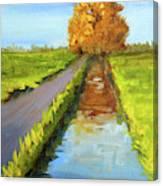 August Landscape Canvas Print