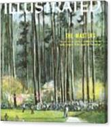 Augusta National Golf Course, 1960 Masters Preview Sports Illustrated Cover Canvas Print