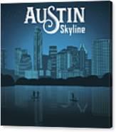 Austin Texas Skyline Canvas Print