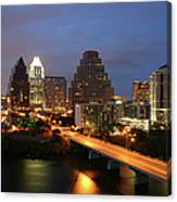 Austin Texas Skyline - Unique Canvas Print