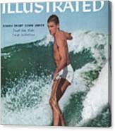 Australian Surfing Sports Illustrated Cover Canvas Print