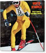 Austria Franz Klammer, 1976 Winter Olympics Sports Illustrated Cover Canvas Print