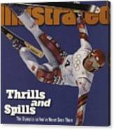 Austria Herman Maier, 1998 Winter Olympics Sports Illustrated Cover Canvas Print