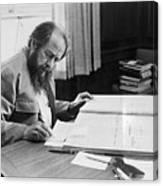 Author Aleksandr Solzhenitsyn Canvas Print