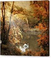 Autumn Afterglow Canvas Print