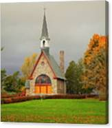 Autumn At Grand Pre Canvas Print