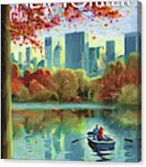 Autumn Central Park Canvas Print