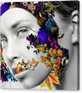 Autumn Head Canvas Print