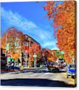 Autumn In Pullman Canvas Print