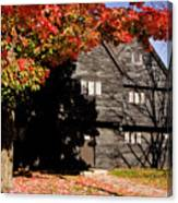 Autumn In Salem Canvas Print