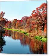 Autumn In Wisconsin Canvas Print
