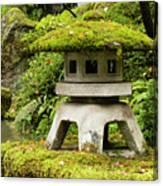 Autumn, Pagoda, Japanese Garden Canvas Print