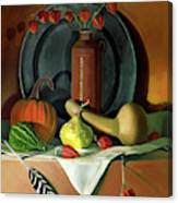 Autumn Still Life Canvas Print