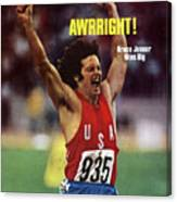 Awrright Bruce Jenner Wins Big Sports Illustrated Cover Canvas Print
