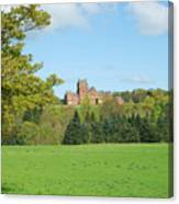 Ayton Castle From South, Berwickshire Canvas Print