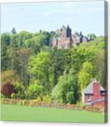 Ayton Castle Canvas Print