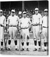 Babe Ruth Murderers Row 1921 Canvas Print