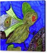 Baby Chicks Canvas Print