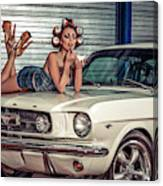 Baby You Can Drive My Car ..... Canvas Print