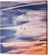 Back To The Sky Canvas Print