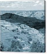 Badlands Shadow Grandeur Canvas Print
