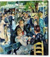 Bal Du Moulin De La Galette - Digital Remastered Edition Canvas Print