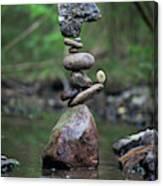 Balancing Art #18 Canvas Print
