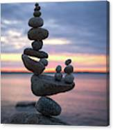 Balancing Art #67 Canvas Print