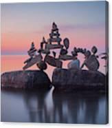 Balancing Art #86 Canvas Print