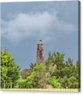 Bald Head Island Lighthouse Canvas Print