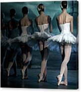 Ballerinas Canvas Print
