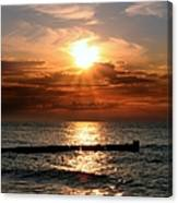 Baltic Sunset Canvas Print