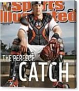 Baltimore Orioles Matt Wieters Sports Illustrated Cover Canvas Print