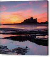 Bamburgh Castle Bam0032 Canvas Print