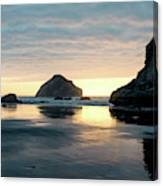 Bandon Beach Sunset 3 Canvas Print
