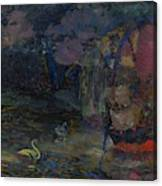 Baranoff-rossine Vladimir  1888-1944  Fairy Lake Canvas Print
