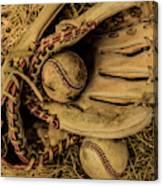 Baseball Mug Canvas Print