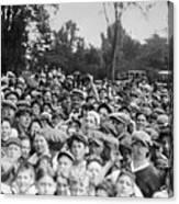 Baseball Player Babe Ruth Among 5,000 Canvas Print
