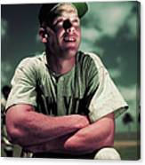 Baseball Player Mickey Mantle Canvas Print